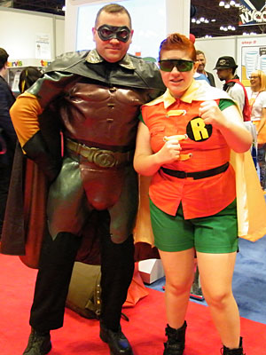 Robin & Robin at NYCC 2013