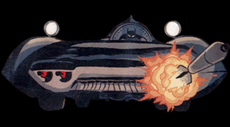 Justice League: The New Frontier Special Batmobile